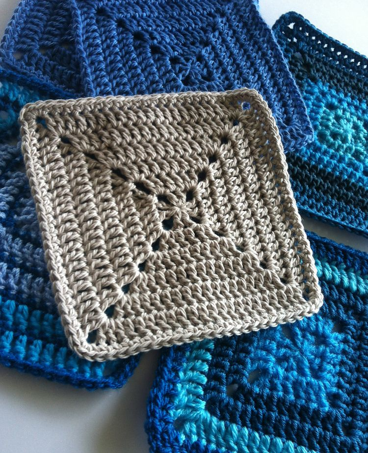 Solid Granny Square Motif For Beginners By Shelley Husband ...