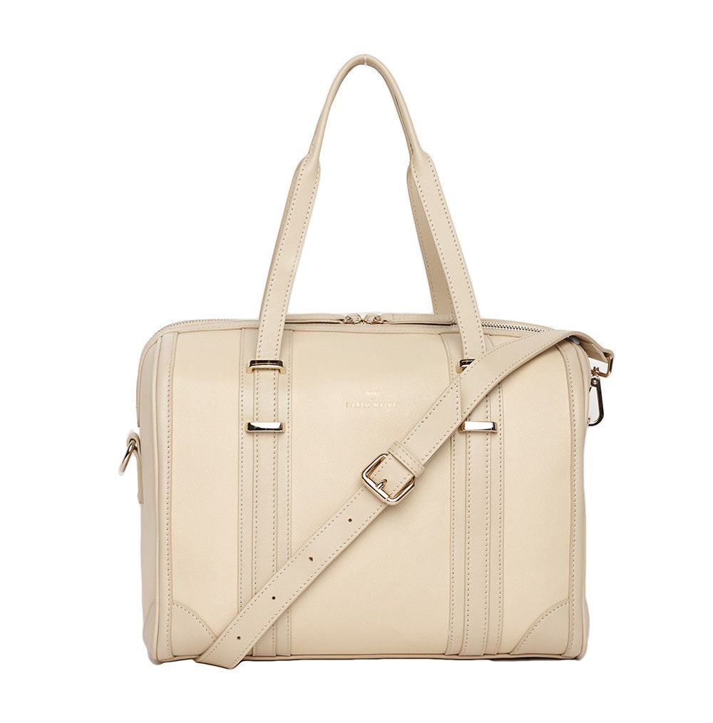 6a3b8e7f969e The Andie Duffle Bag by Benah for Karen Walker Cream ...