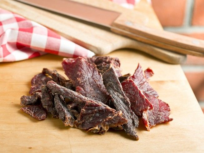 A 5-star recipe for Cliff's Fantastic Jerky made with London broil, sirloin, or chuck roast or steak, , Worcestershire sauce, soy sauce, salt