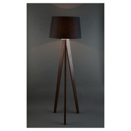 Tripod wooden floor lamp dark wood black shade living pinterest tripod wooden floor lamp dark wood black shade mozeypictures Image collections