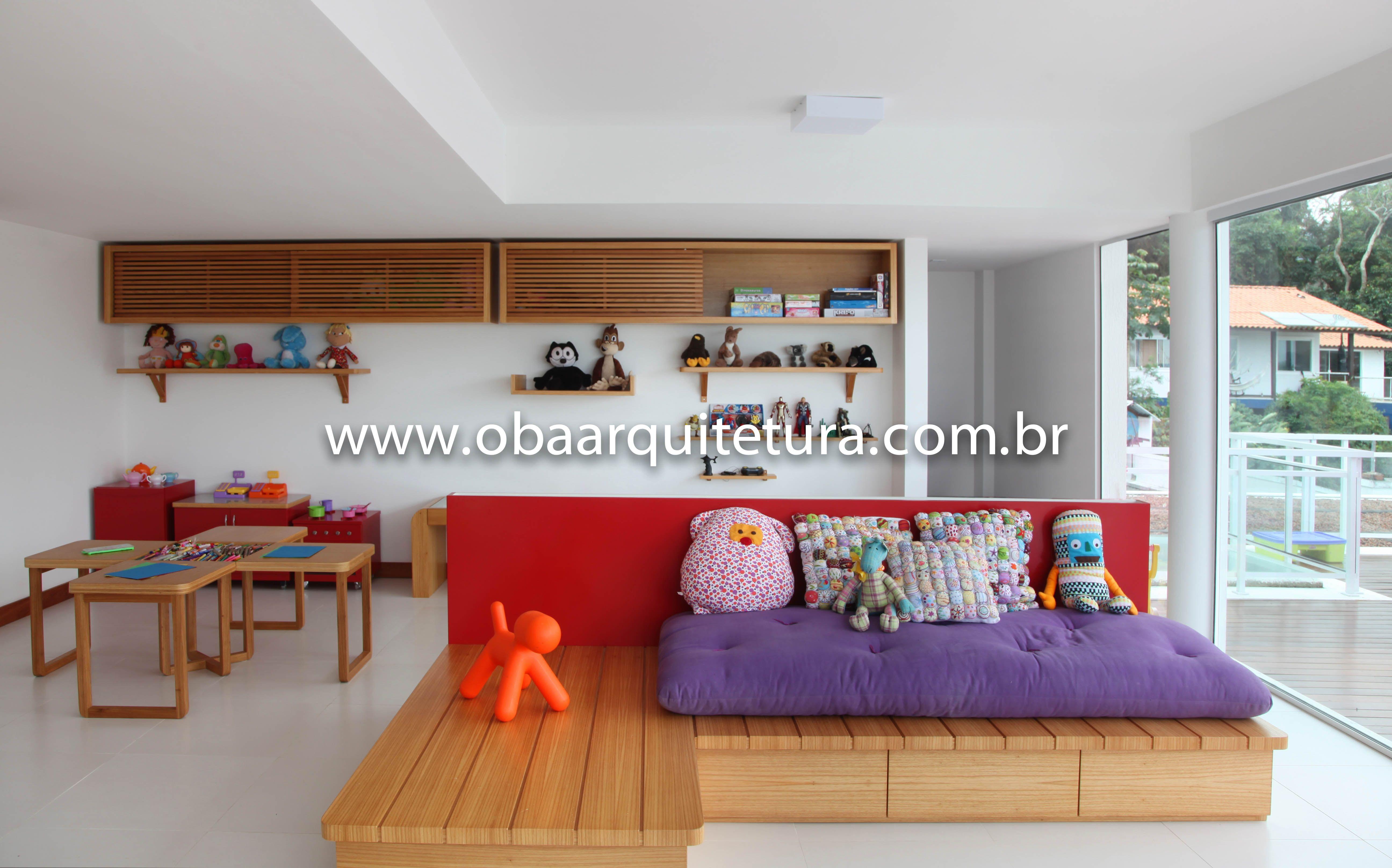 Brinquedoteca, Itacoatiara, RJ, Brasil www.obaarquitetura.com.br