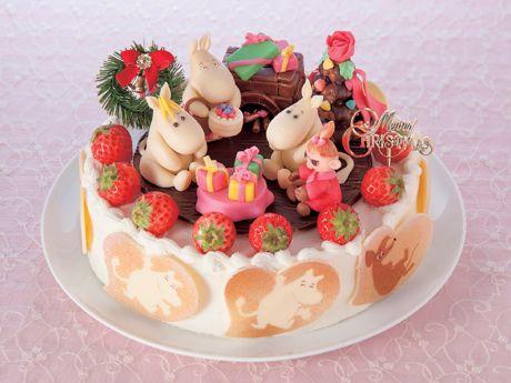 近鉄百貨店、Xマスケーキ予約受け付け-ポワール「ムーミン谷のクリスマス」など(写真ニュース)