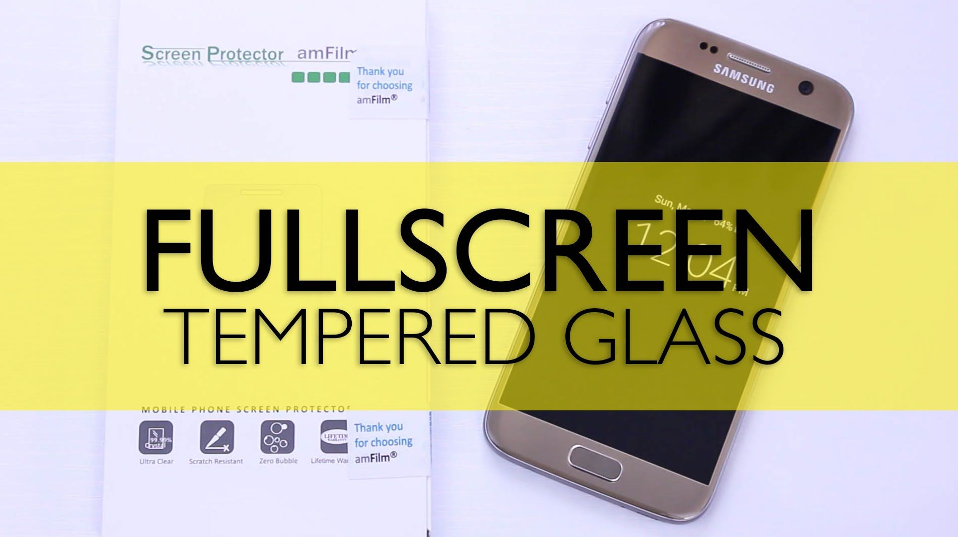 awesome Samsung Galaxy S7 TechMatte Fullscreen Protector Review Check more at gad snetworks