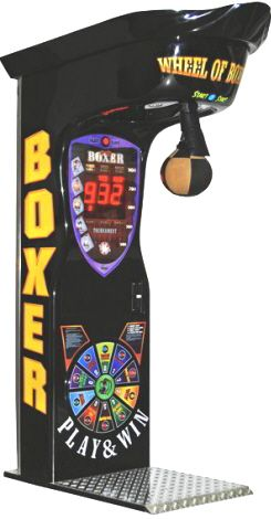 Pin On Boxing Machines Arcade Boxing Games