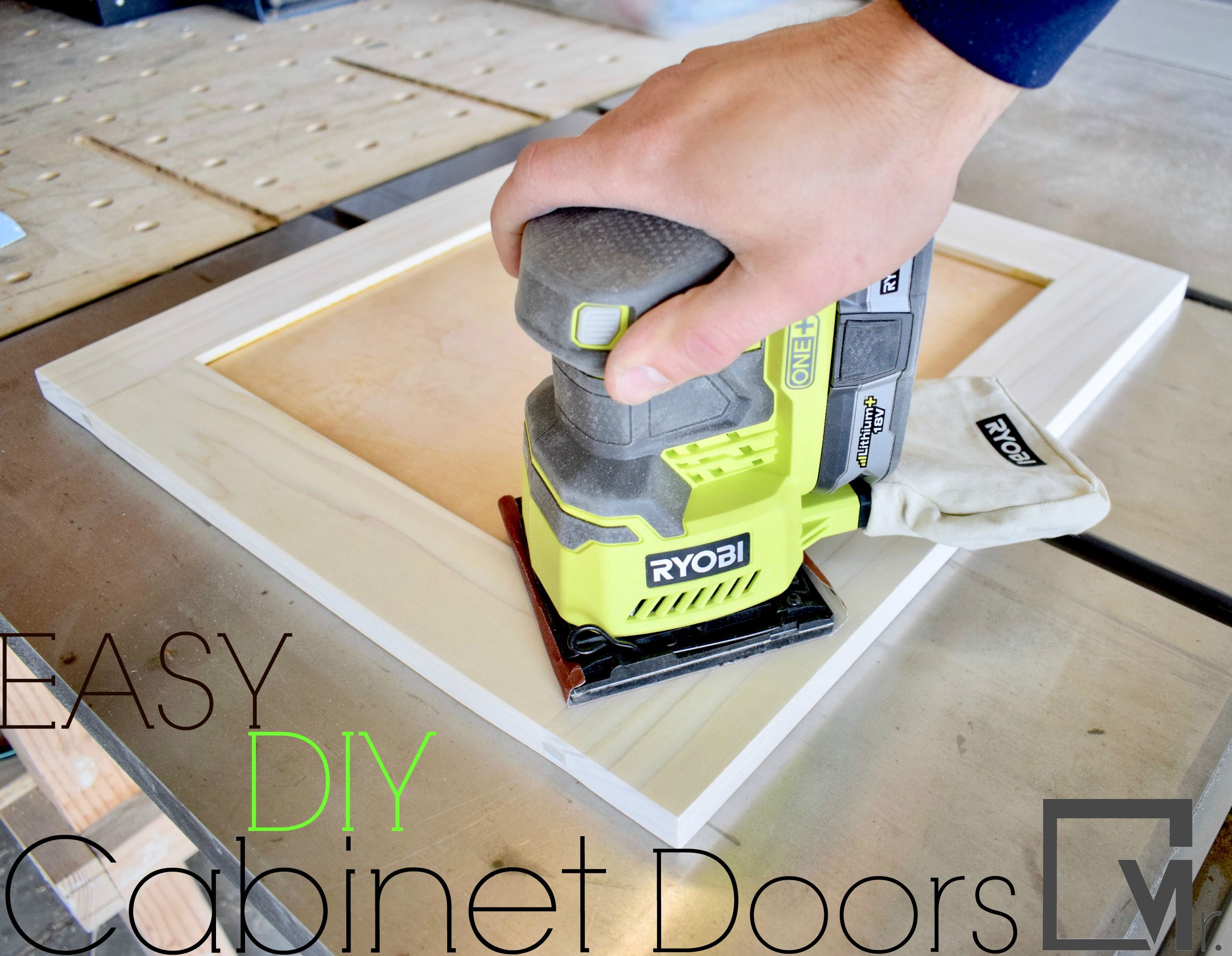 DIY Shaker Cabinet Doors - An Easy Tutorial for Shaker Style Cabinet ...