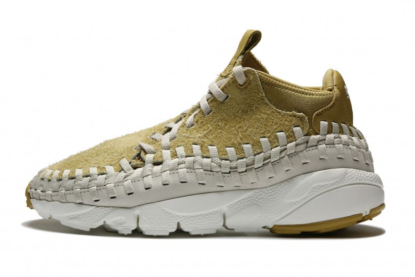 ef7ad530f681 Nike Air Footscape Woven QS Hairy Suede - Flat Gold