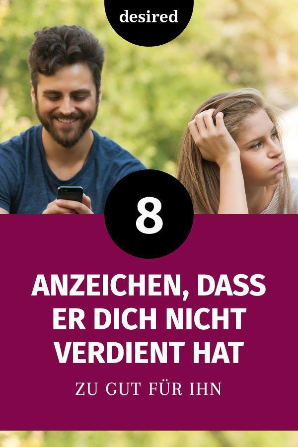 8 Anzeichen, dass er dich nicht verdient hat | Beziehung