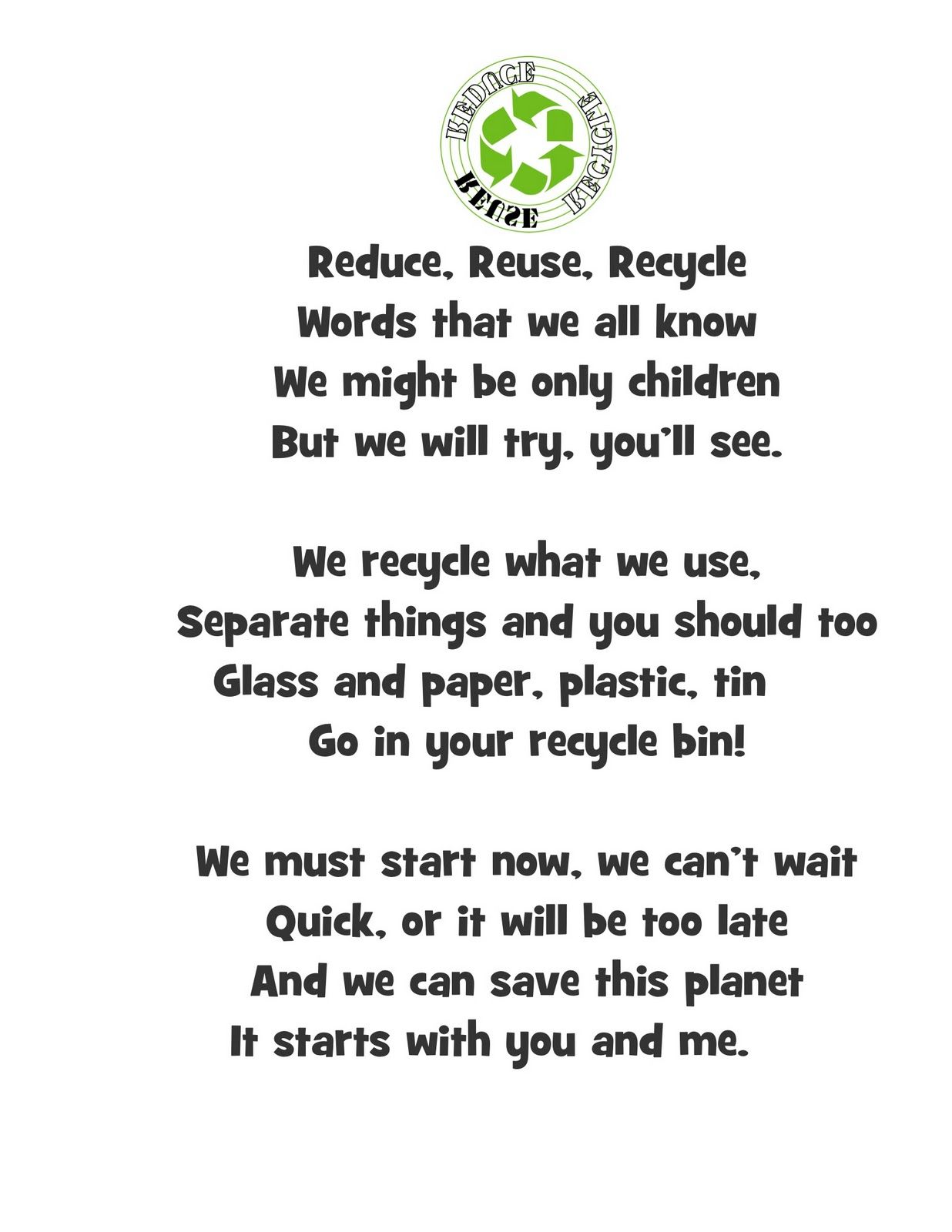 Resultado De Imagen Para Poem About The Environment Using