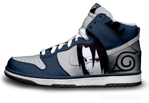 ART] Madara Uchiha Custom Nike Air Force 1 Sneakers : Naruto