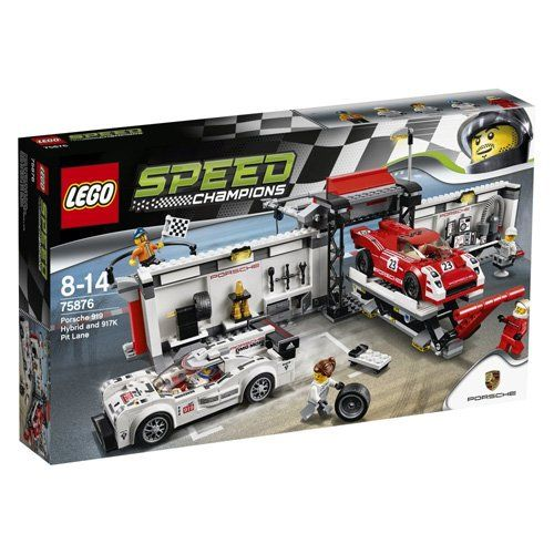 LEGO SPEED CHAMPIONS: Porsche 919 Hybrid & 917K Pit Lane ... https ...