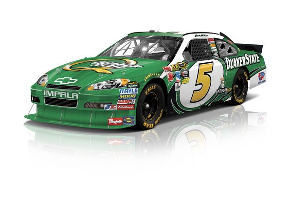 Really like this design. Mark Martin drives it in four races in 2011.