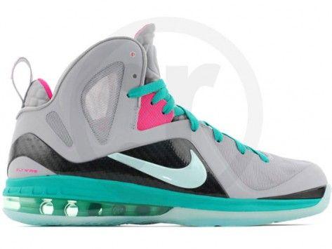 huge discount 14bb8 698ea Nike LeBron 9 Elite - South Beach