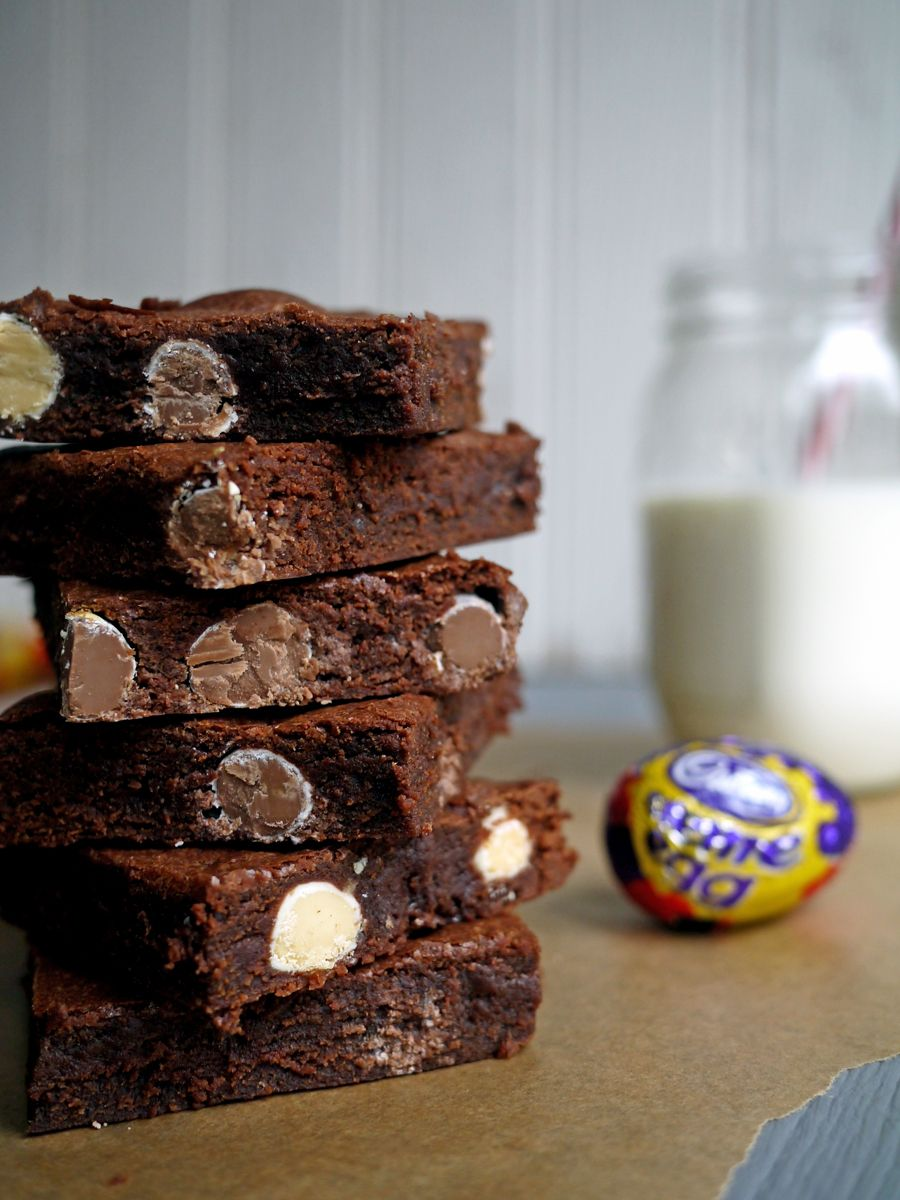 Check out Filthy Fudgy Easter Brownies. It's so easy to make!