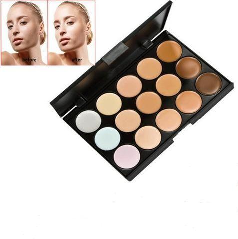 15 Colors Professional Contour Face Cream Makeup Concealer Palette Cosmetics - marketplacefinds  - 1