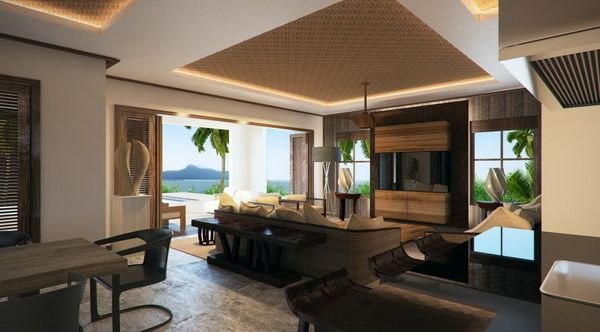 Contemporary Eden Island Villa in the Seychelles by Antoni Associates