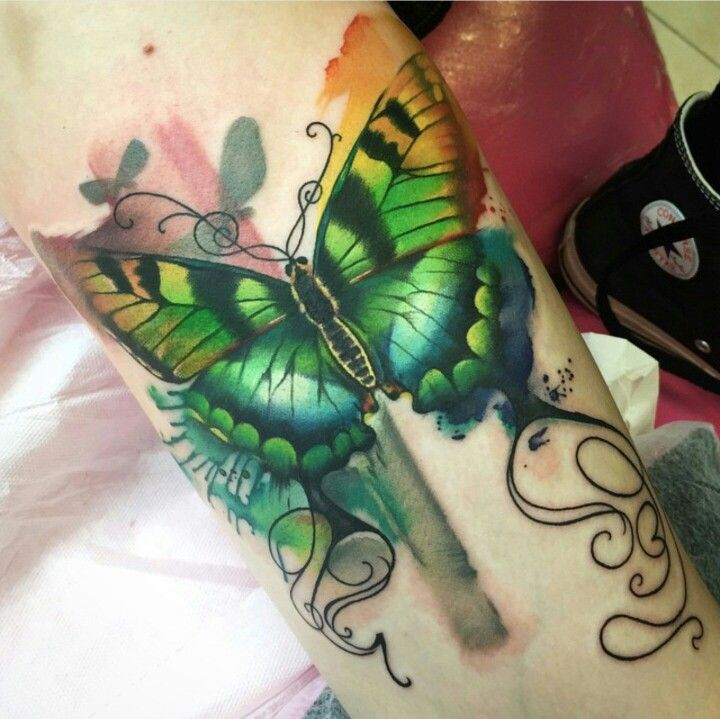 Rainbow Butterfly Colorful Butterfly Tattoo Tattoos Best Tattoo Designs