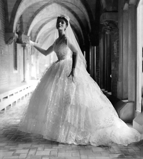 Vintage Wedding Dresses 1960s: 1960's Photo By Kenneth Heilbron