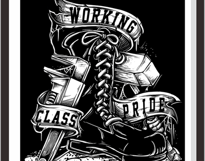 Check Out New Work On My Behance Portfolio Workingclass Pride