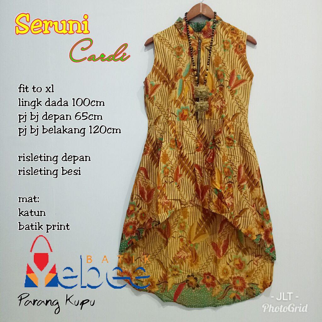 Gambar Model Baju Batik Kerja Wanita Terbaru Gambar Model Baju Batik