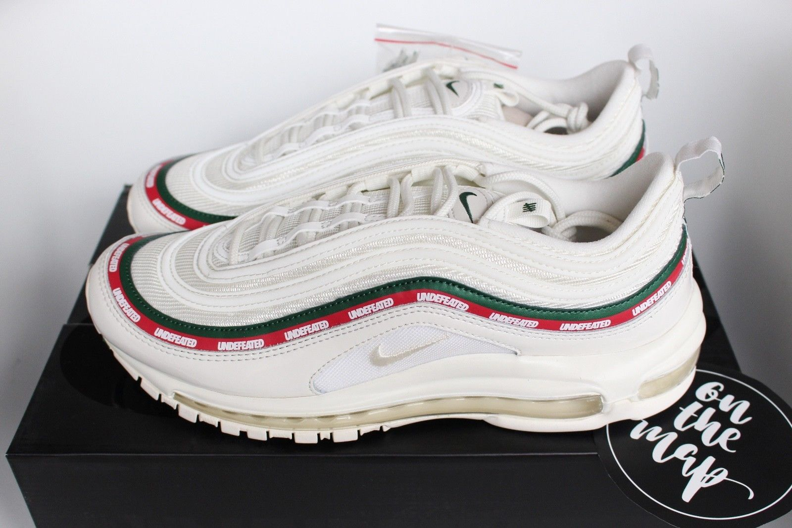 Details about Nike x Undefeated Air Max 97 OG White Cream
