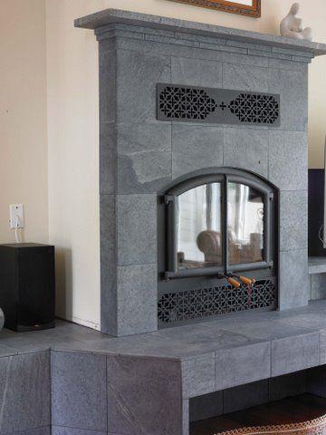 Buy Soapstone Tile For Your Home Dorado Soapstone Soapstone Tile Fireplace Tile Fireplace Makeover