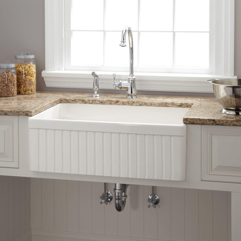 Küche Spüle Abfluss Küche Mit Schürze Waschbecken, Landhausstil Waschbecken  Drop In Edelstahl Spülbecken #Bett
