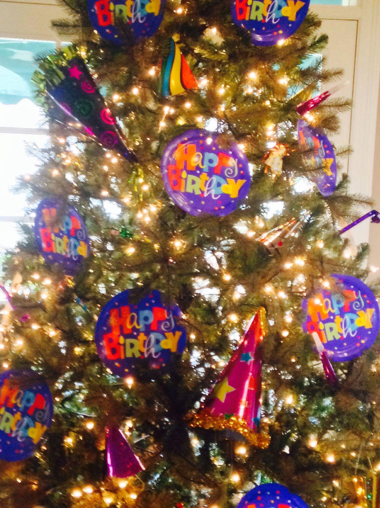 Happy Birthday Tree. My husband's birthday is January 5