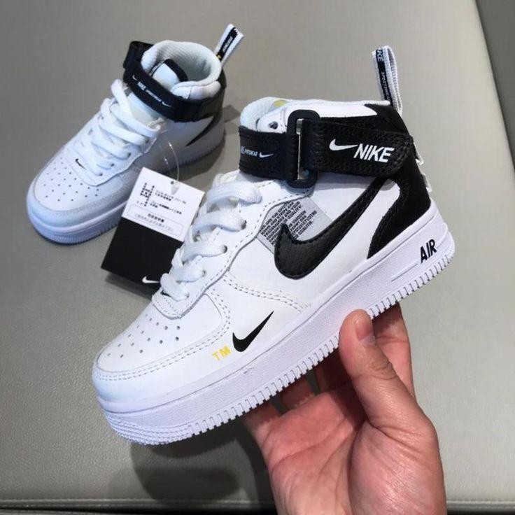Nike Air Force Kids Sneakers   Boy