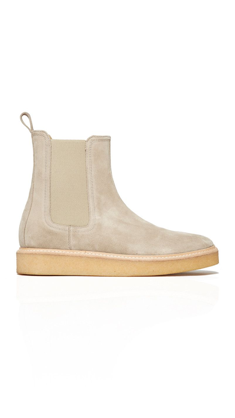 d7ebd27a247c6 Represent Clothing Wedge Boot - Stone   Natural Crepe