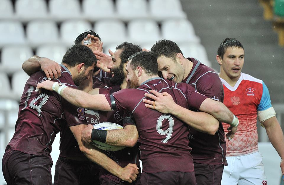 Georgian National Rugby Team Claims Victory Over Russia 29 9 Rugby Team Rugby French Rugby