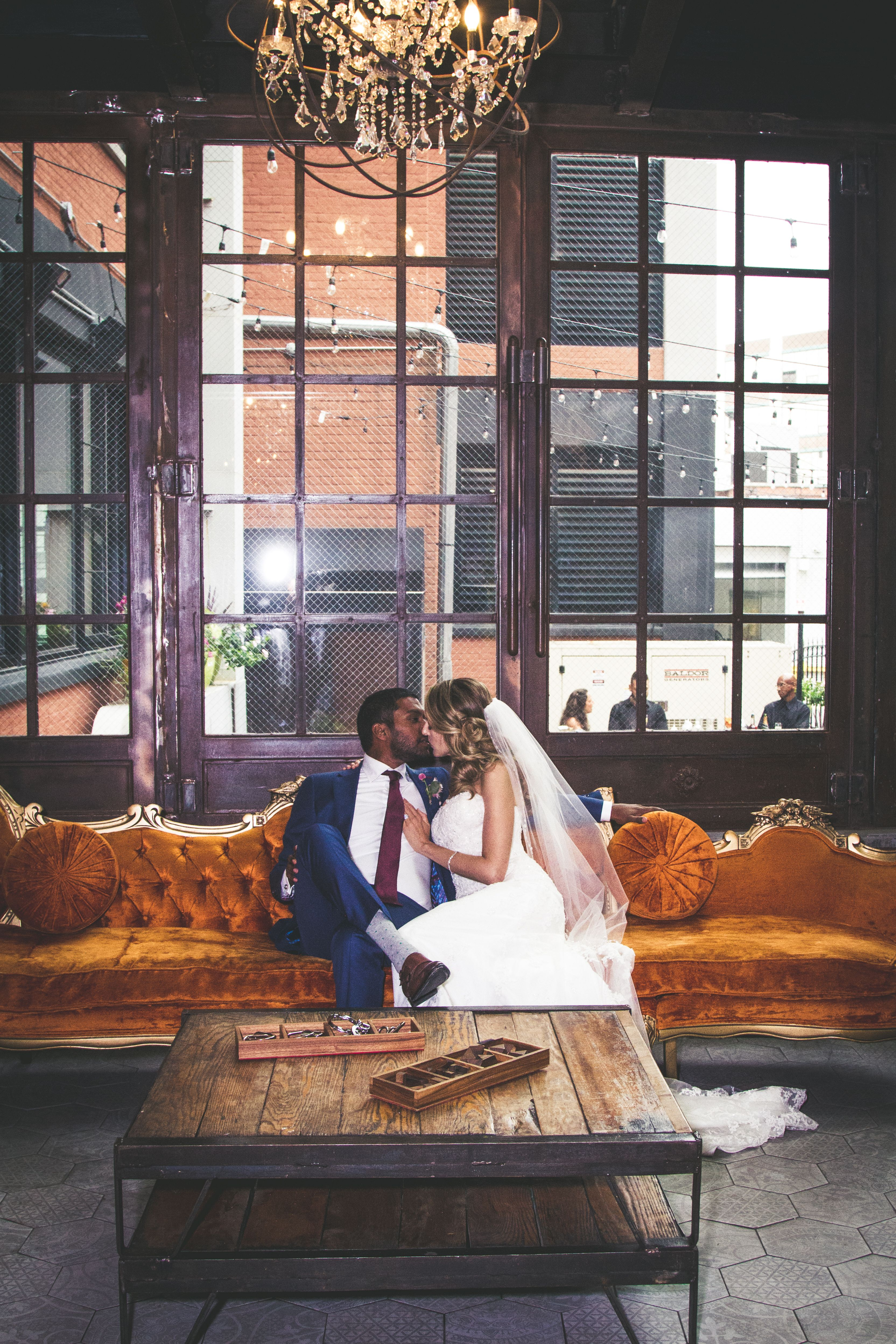 Laurel and Ashish's Wedding at The Paper Factory Hotel
