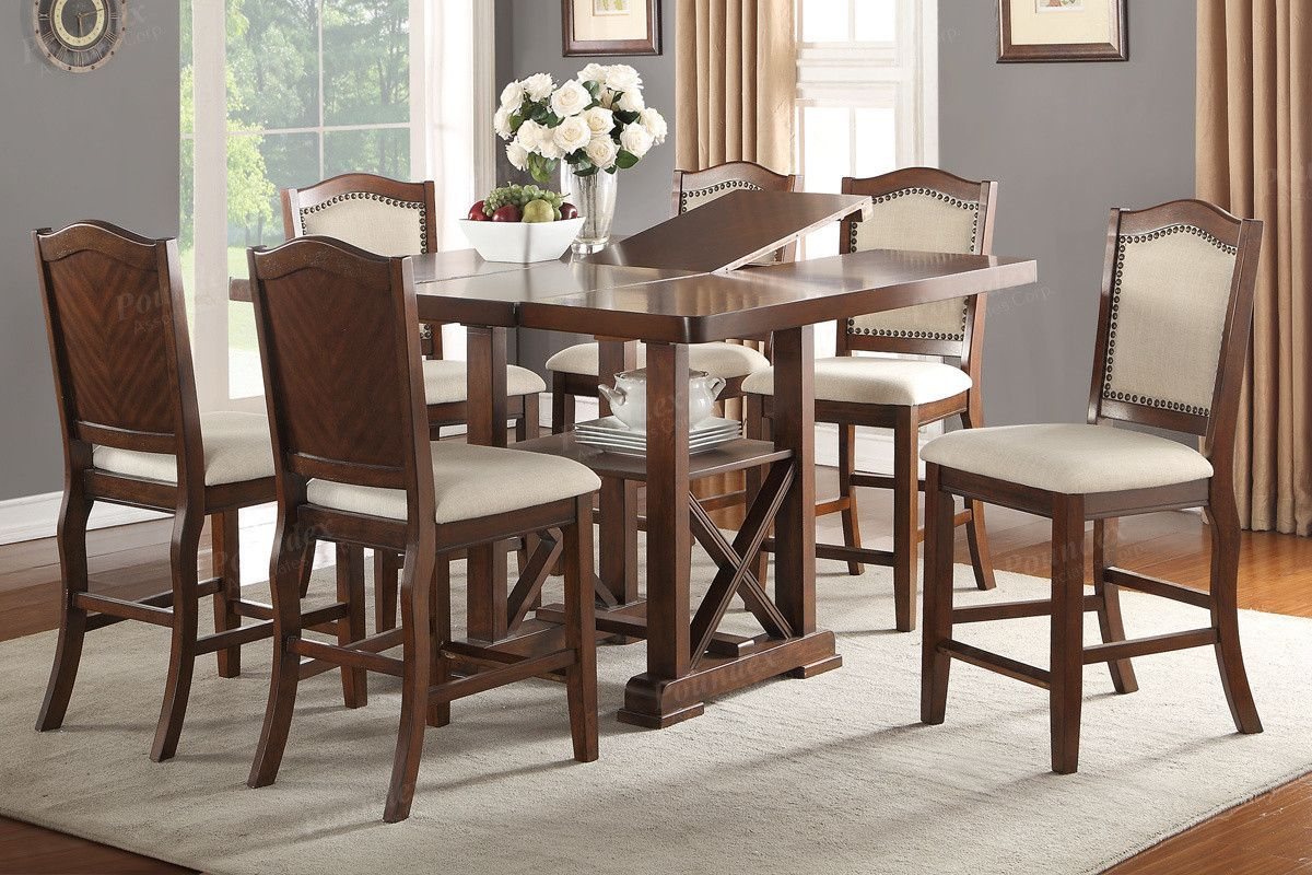 Poundex Dining chair F1570 (2Piece)