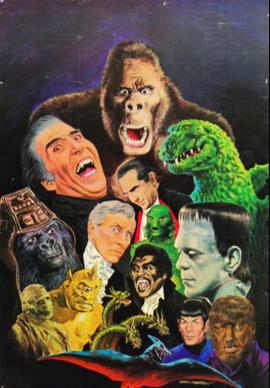 1970s Monster Poster, Gray Morrow