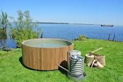 Wood Fired Hottub As At Cruggleton Lodge Galloway House Estate Scotland Inflatable Hot Tub Reviews Diy Hot Tub Outdoor Baths