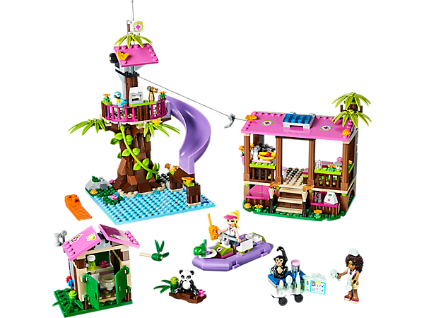 Jungle Falls Rescue- Set up home in the Jungle Rescue Base and ...