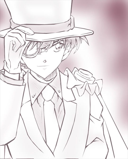 drawing of kaito kid - Google Search
