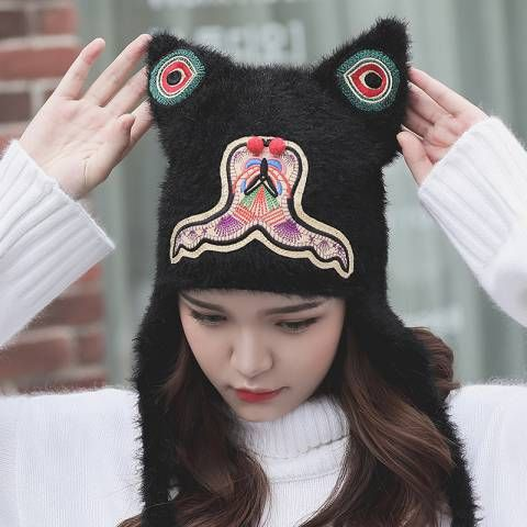 619419be Womens Winter Hats · Knits · https://www.buyhathats.com/cosplay-tiger-knit-