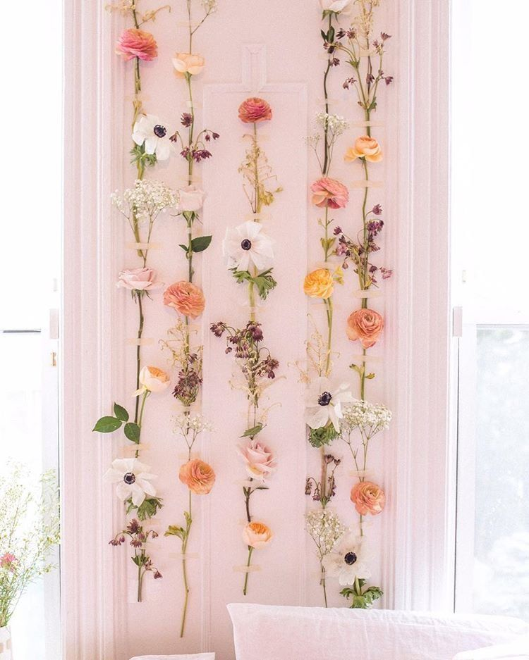 Uohome Instagram Photos And Videos Rustic Chic Bedroom Bedroom Decor Cozy Flower Wall