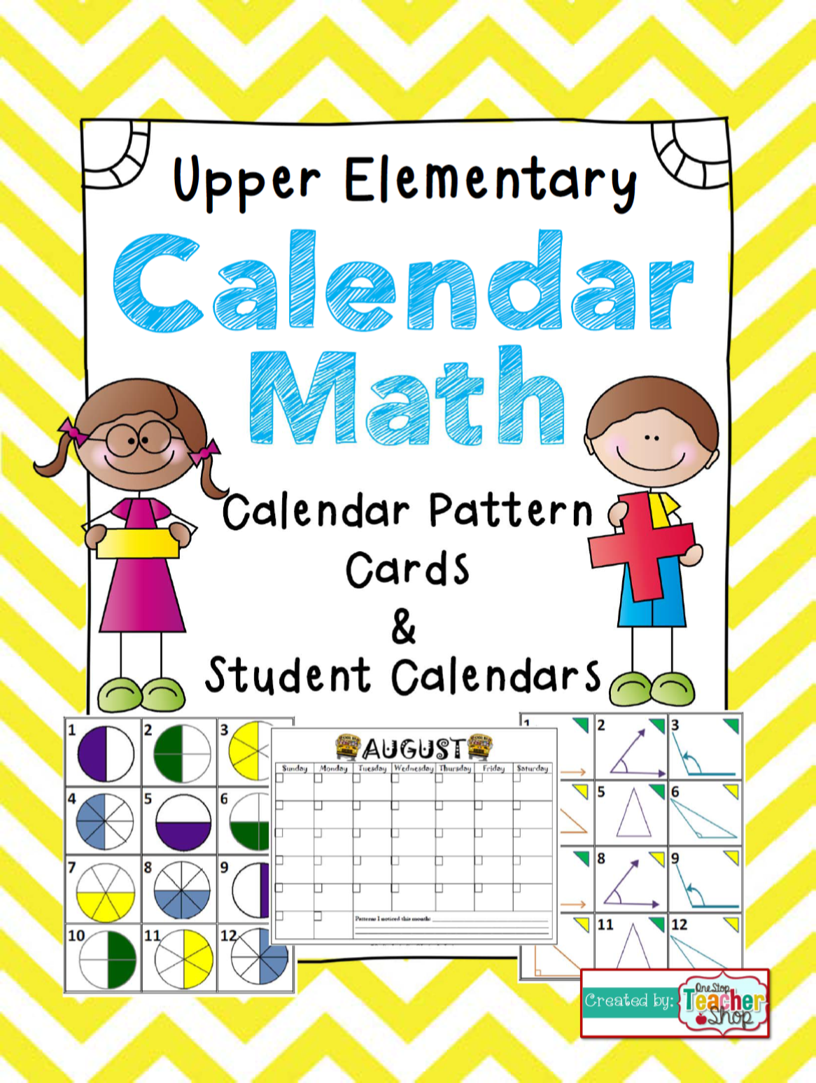 Calendar Math For Upper Elementary Calendar Pattern Cards Amp Student Calendars For The Entire