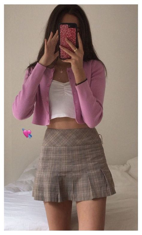 summer pink aesthetic outfits in 2020 | Cute casual ...