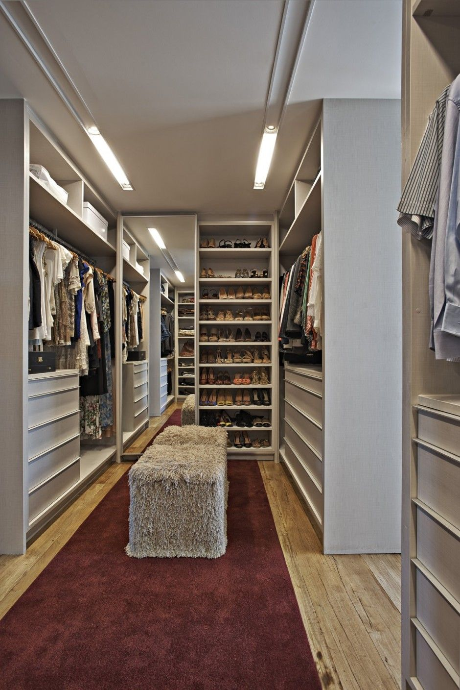 Big Closet. Not So Sure I Would Want All That Space Since I