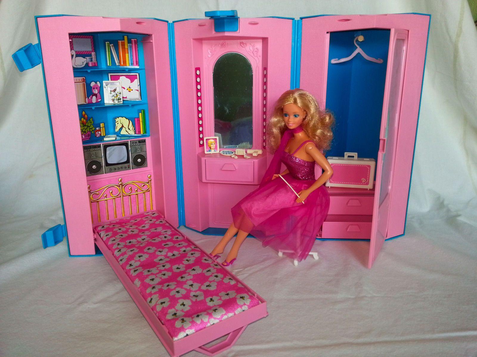 Vintage 1984 Barbie Home Office Playset Barbie Houses Barbie