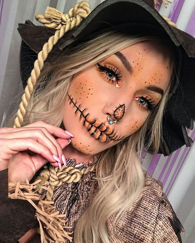Glam Scarecrow || Makup by @jayyroot and inspired by @trashiiie