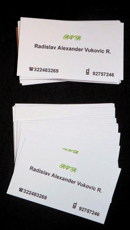 Radislav Vukovic, Transporte de pasajeros, Diseños e Impresiones Peña, Dimpena