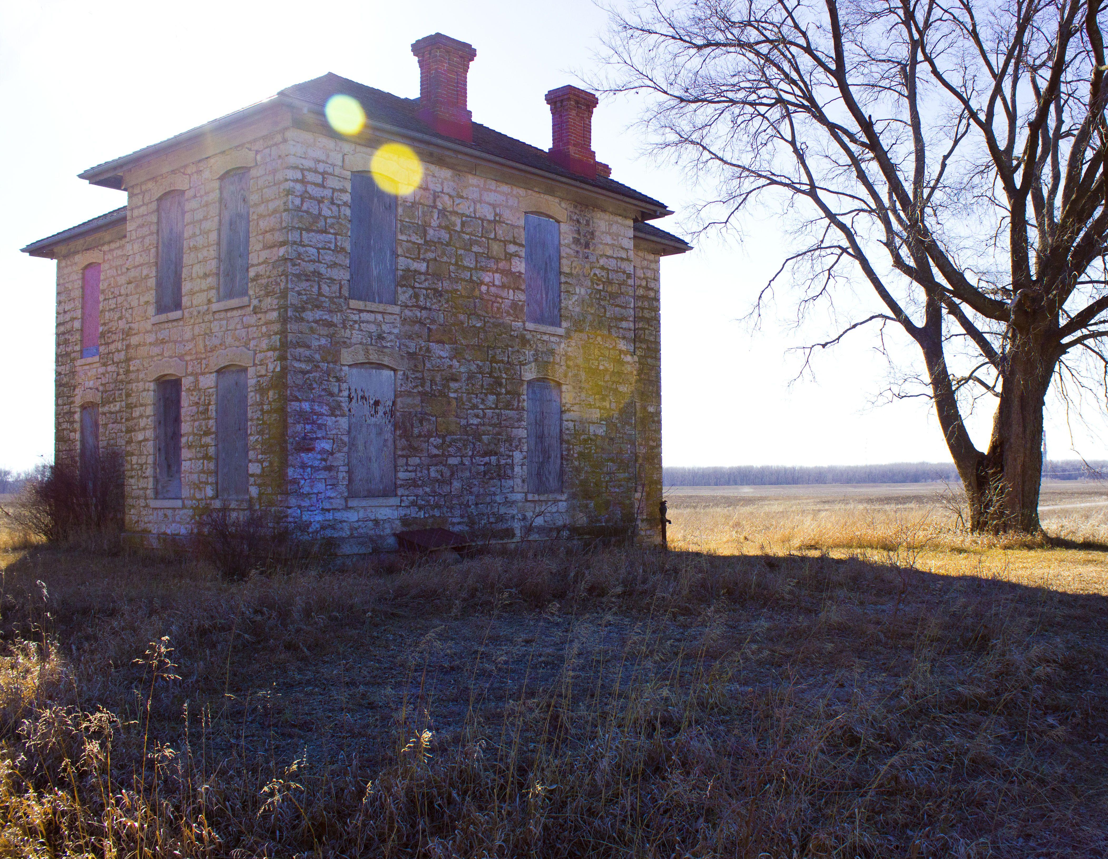 Vermilya Boener House Outside Of Lawrence Ks One Of My Favorite