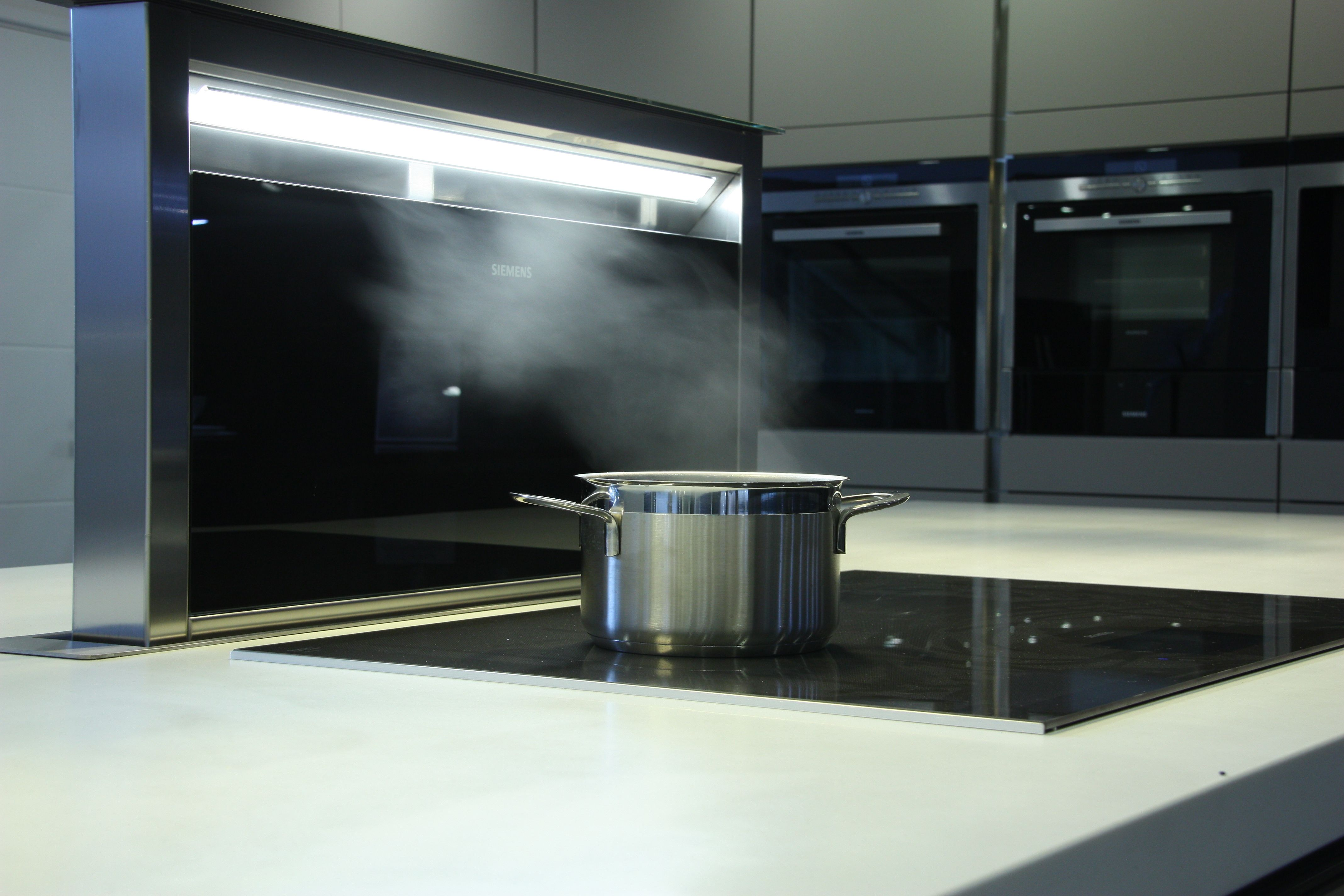 The Siemens Downdraft Extractor now on display at Spillers of Chard Limited