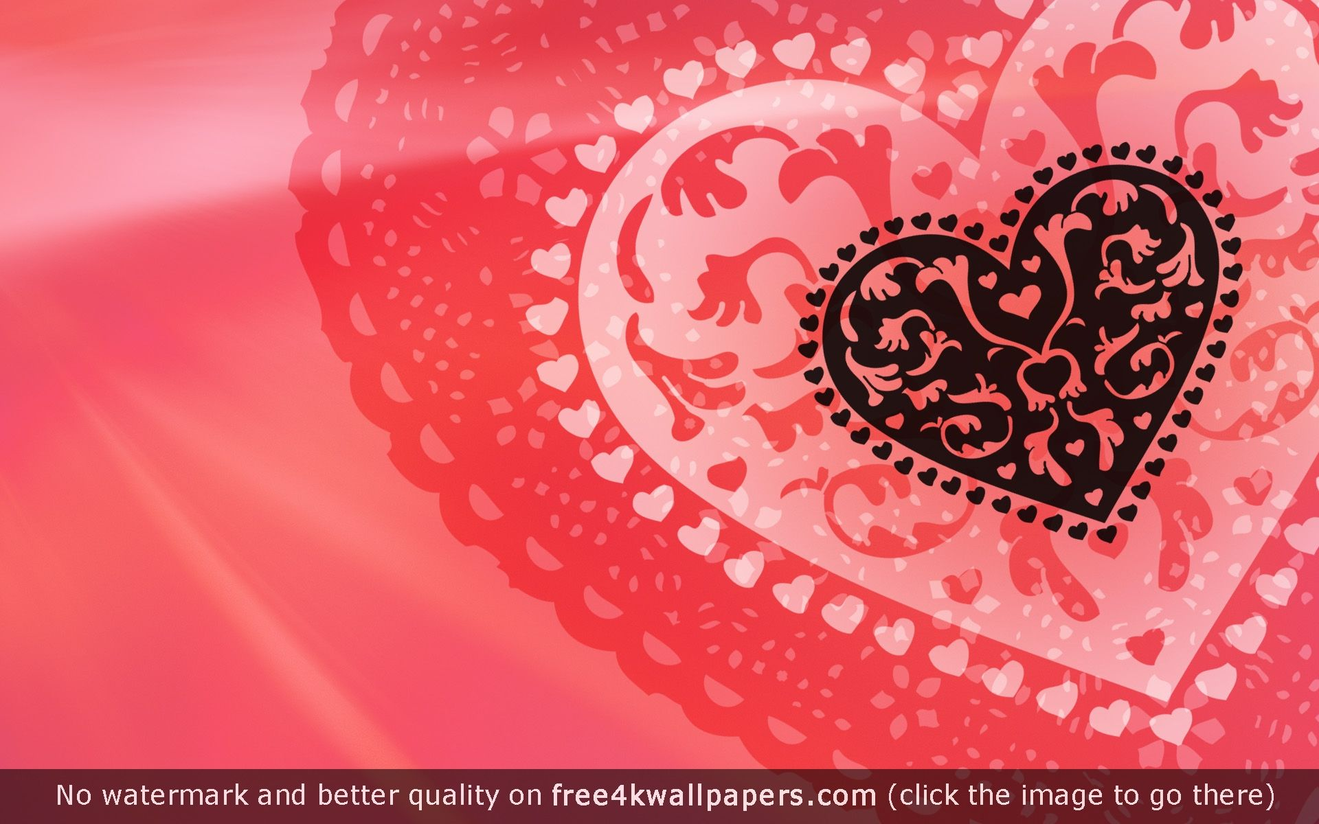 Love Hearts Abstract Valentine Hd Wallpaper Love Wallpaper Valentines Wallpaper Heart Wallpaper