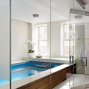 Lovely Master Bathroom Pool Bath Tub Yes Please. Master Bathroom Pool Bath Tub Yes  Please Dream