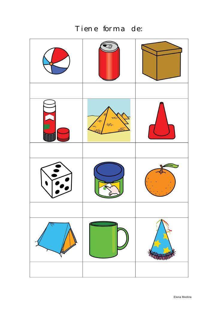 Dibujos De Objetos De Cuerpos Geometricos Objetos Con Figuras Geometri Objetos Con Figuras Geometricas Figuras Y Cuerpos Geometricos Actividades De Geometria