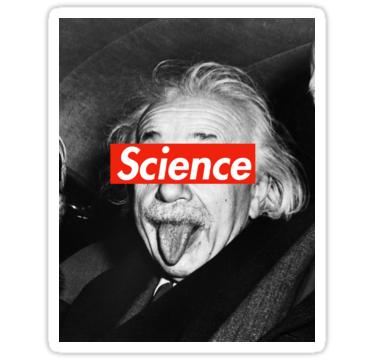 Albert Einstein Supreme Science Stickers By Bob Bob Redbubble Science Stickers Albert Einstein Einstein